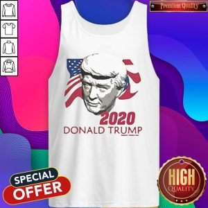 2020 Donald Trump American Flag Independence Day Tank Top